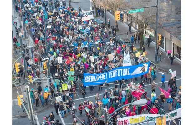 Thousands join Vancouver Climate March