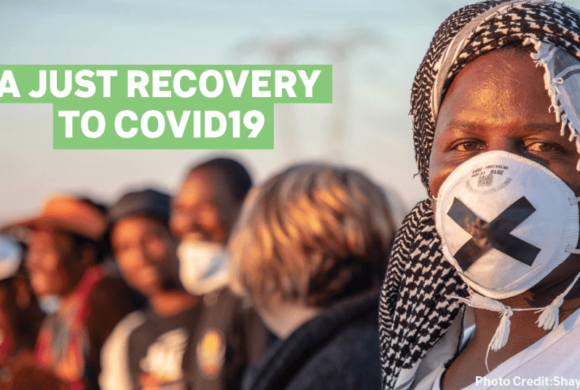 Calls to Incorporate Just Recovery Principles in Federal Response to COVID-19 Pandemic